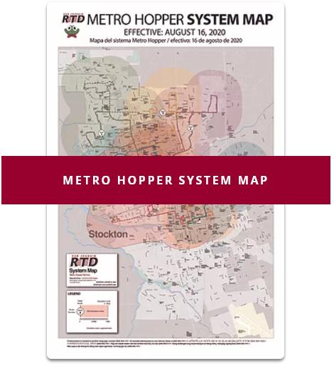 Open Metro Hopper System Map