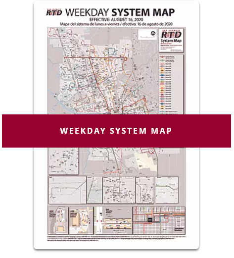 Open Weekday System Map