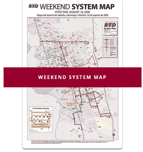 Open Weekend System Map